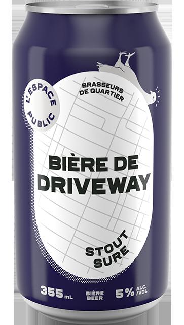 Bière de driveway