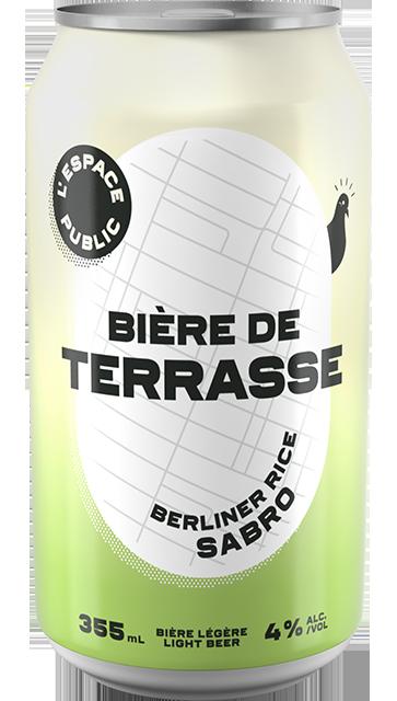 Bière de terrasse